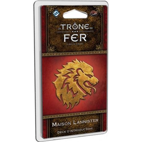 Le Trône de Fer - JCE - Maison Lannister Deck d'introduction