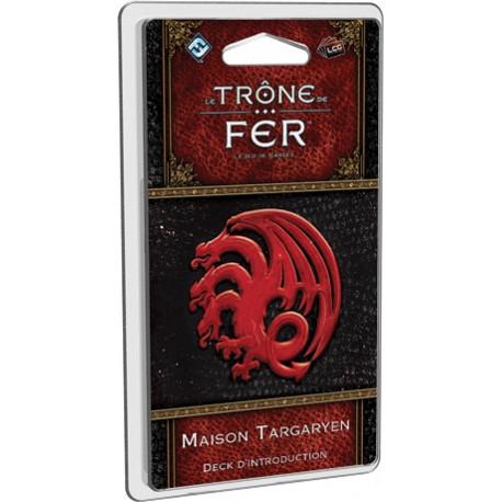 Le Trône de Fer - JCE - Maison Targaryen Deck d'introduction