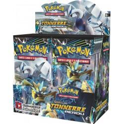 Display de 36 Boosters Pokémon Soleil et Lune 8 - Tonnerre Perdu