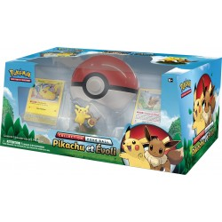 Coffret Pokemon - Poké Ball Pikachu et Evoli